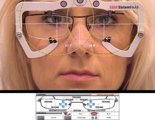 Měření očí v Individuální Optickém Studiu